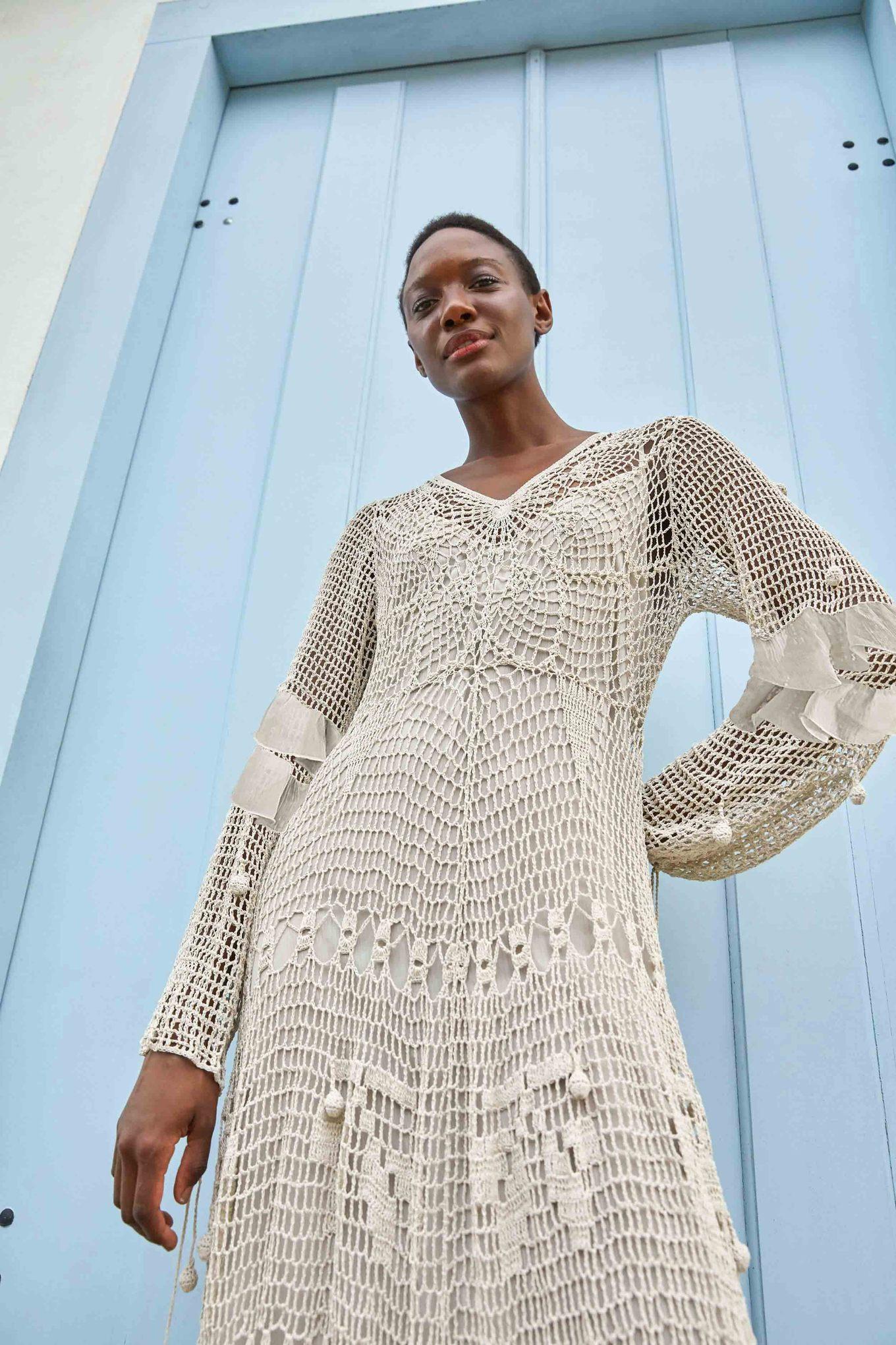 Crochet Maxi Dress $595