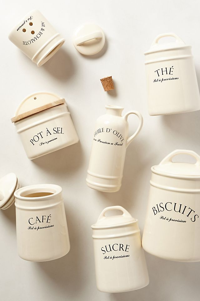 Bistro Canisters $20.00