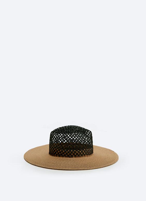 RAFFIA HAT $110.00