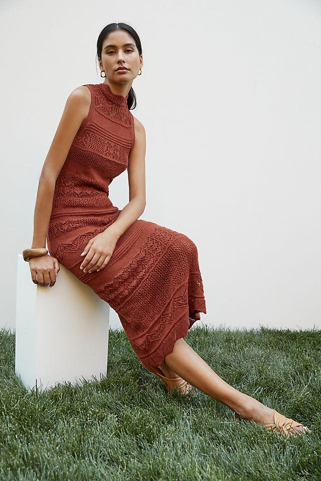 Crochet Midi Dress $140.00