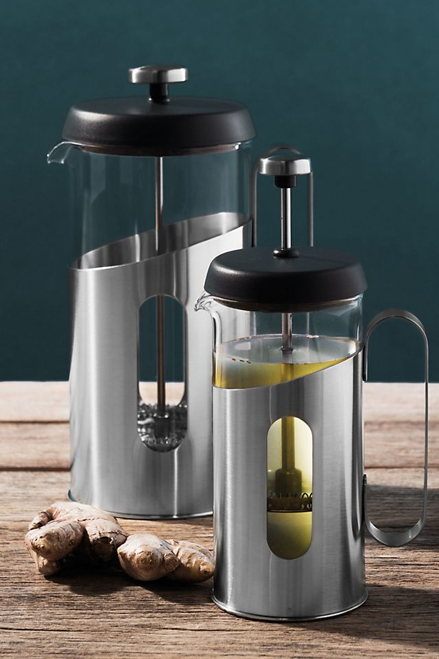 Essentials Stainless Steel French Press $36.99