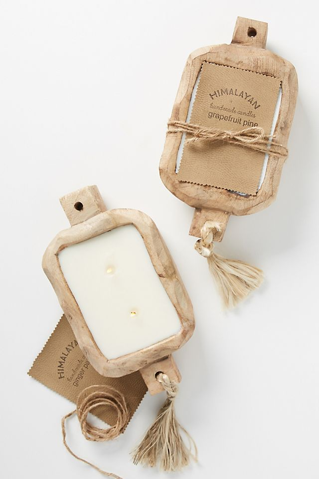 Driftwood Tray Candle $88.00
