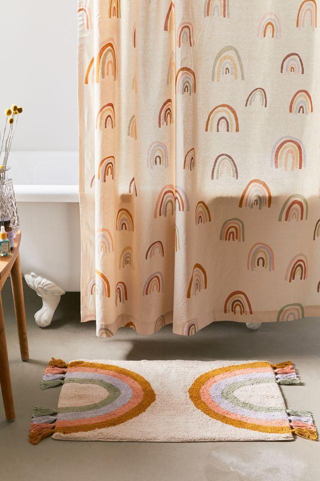 Rainbow Fringe Bath Mat $39.00 – $59.00