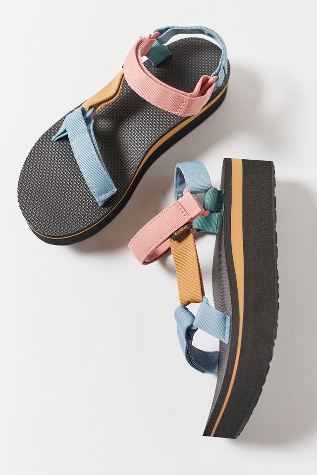 Teva Universal Flatform Colorblock Sandal $65.00