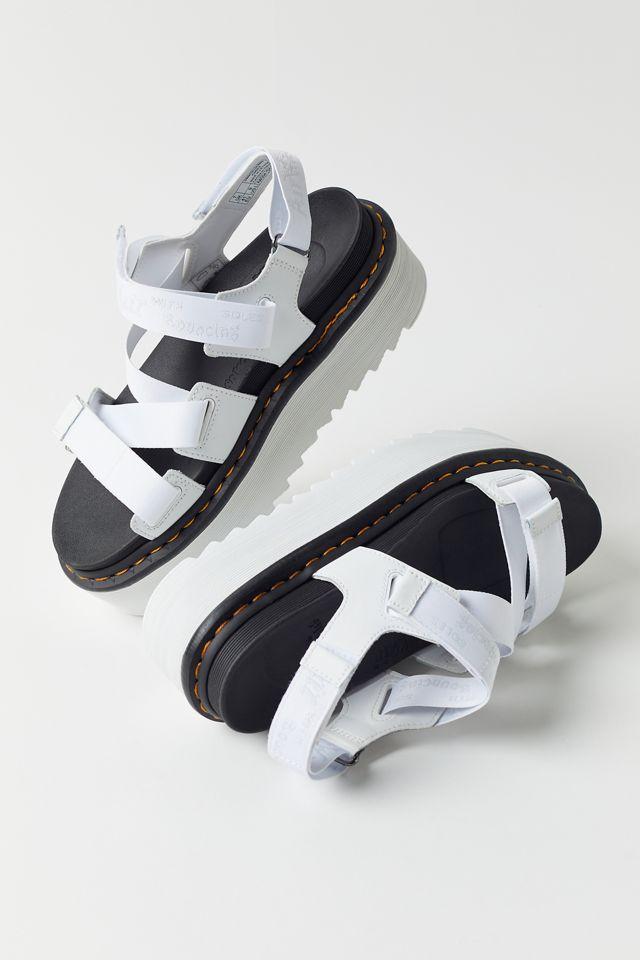 Dr. Martens Kimber Logo Webbing Strap Platform Sandal $100.00 https://fave.co/3keBk7D