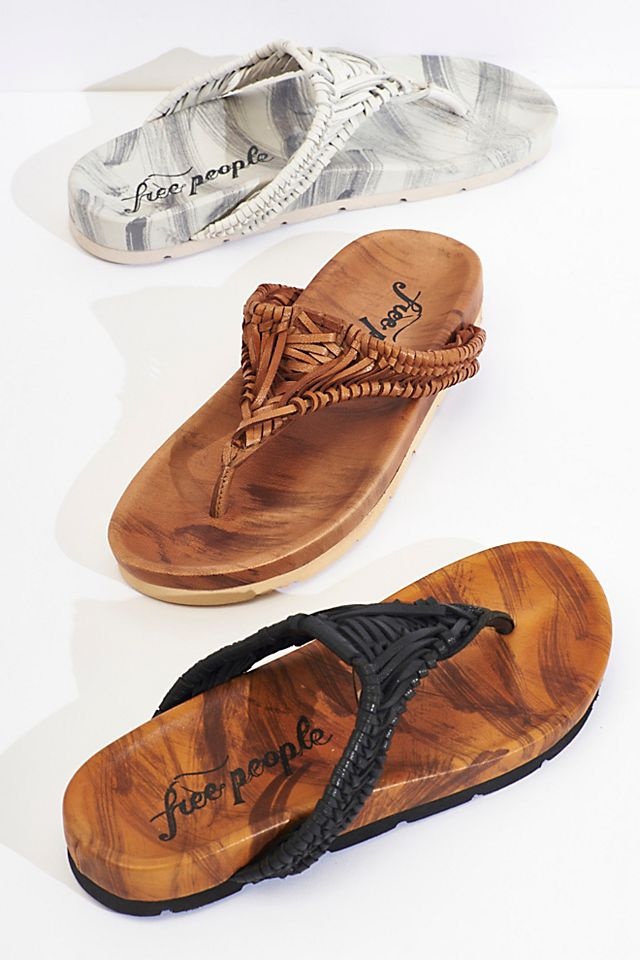 Ivy Handwoven Footbed Sandals $98.00