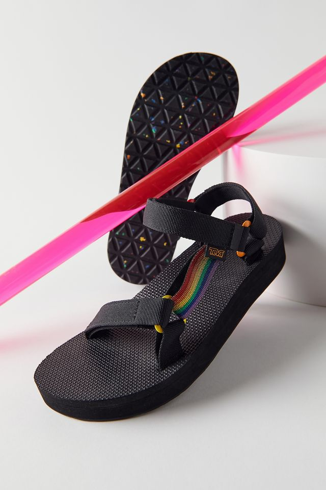 Teva Universal Rainbow Pride Midform Sandal $60.00