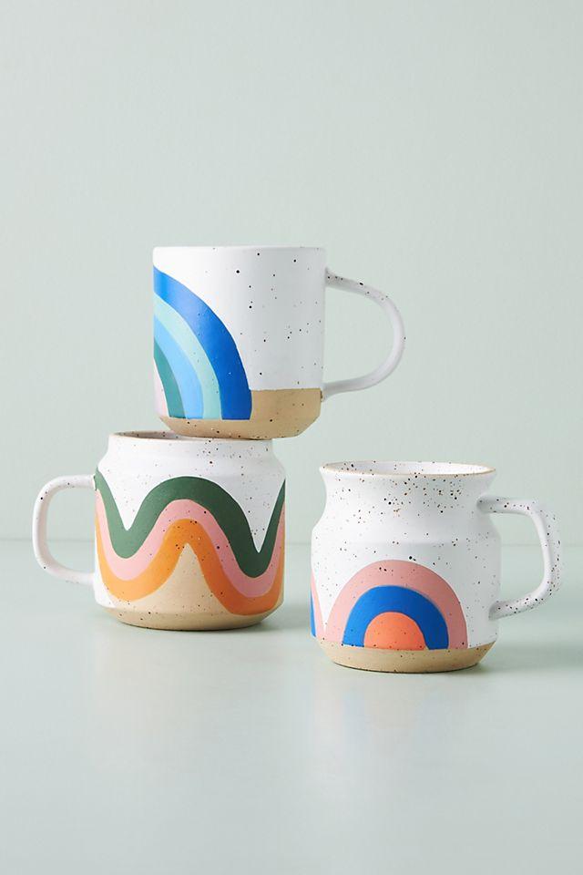 Commune Pottery Among The Rainbow Mug $14.00