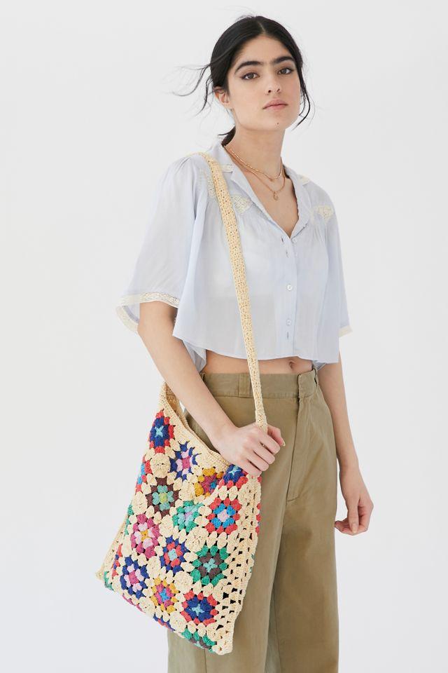 UO Gran Crochet Shoulder Bag $49.00
