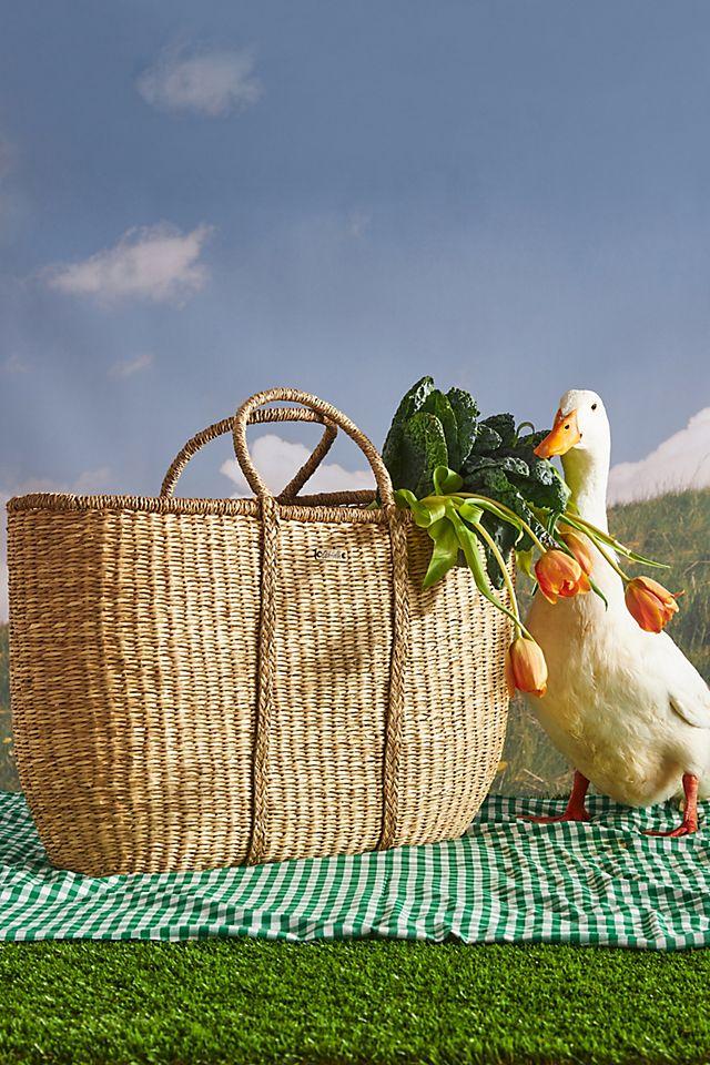 Olli Ella Picnic Basket Tote Bag $88.00