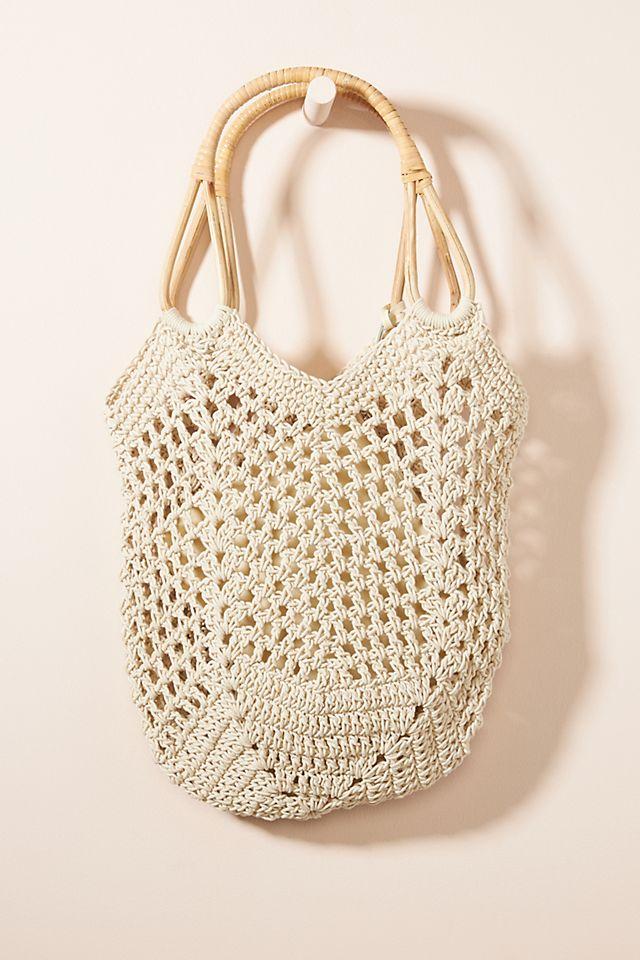 Kimbra Crochet Tote Bag $98.00