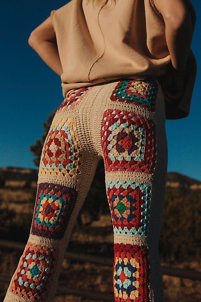 Slouchy Crochet Trousers$190.00