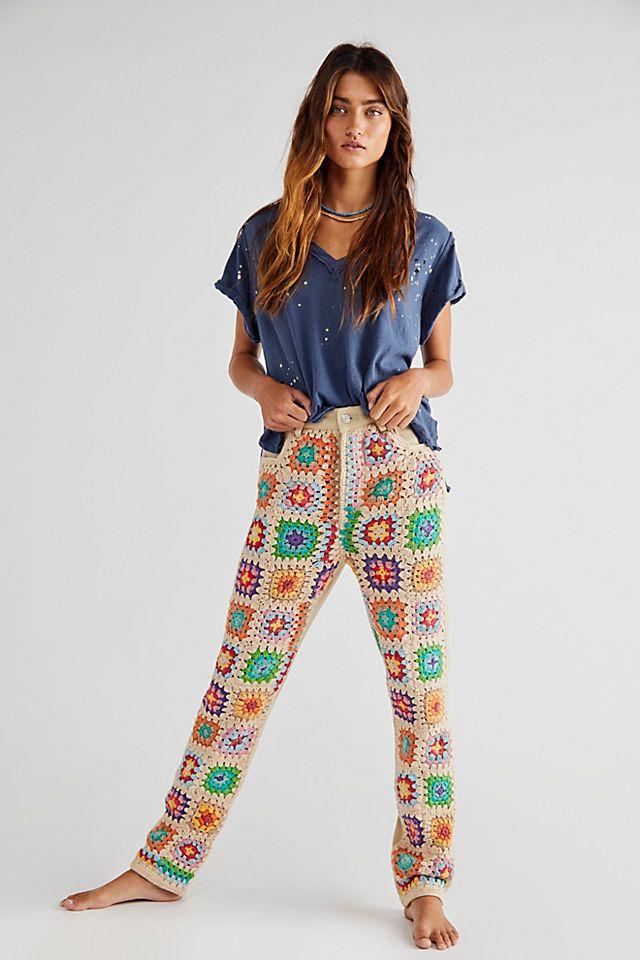 Crochet Zuri Mom Jeans $198.00