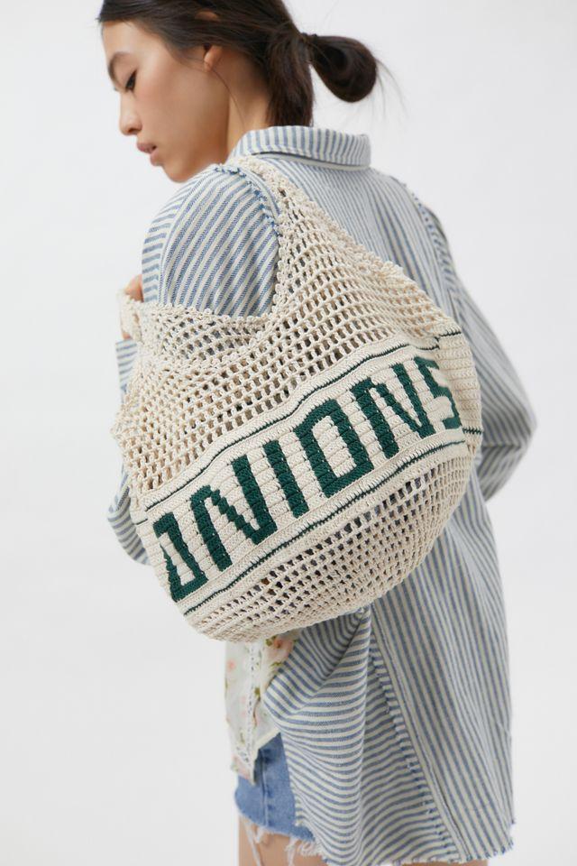 Kimchi Blue Onions Crochet Tote Bag $48.00