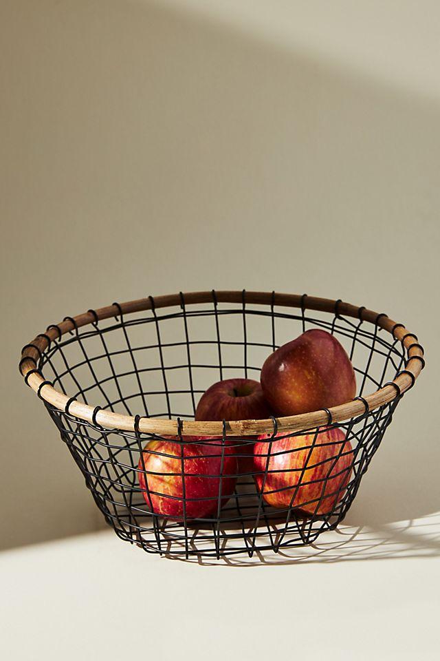 Wire Fruit Basket $38.00