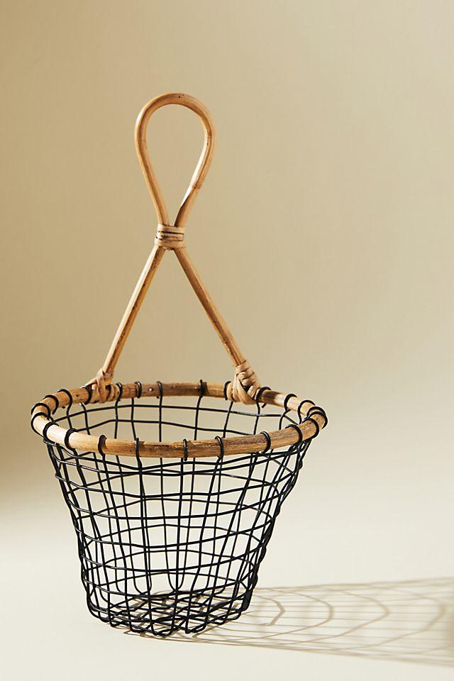 Wire Hanging Fruit Basket $28.00