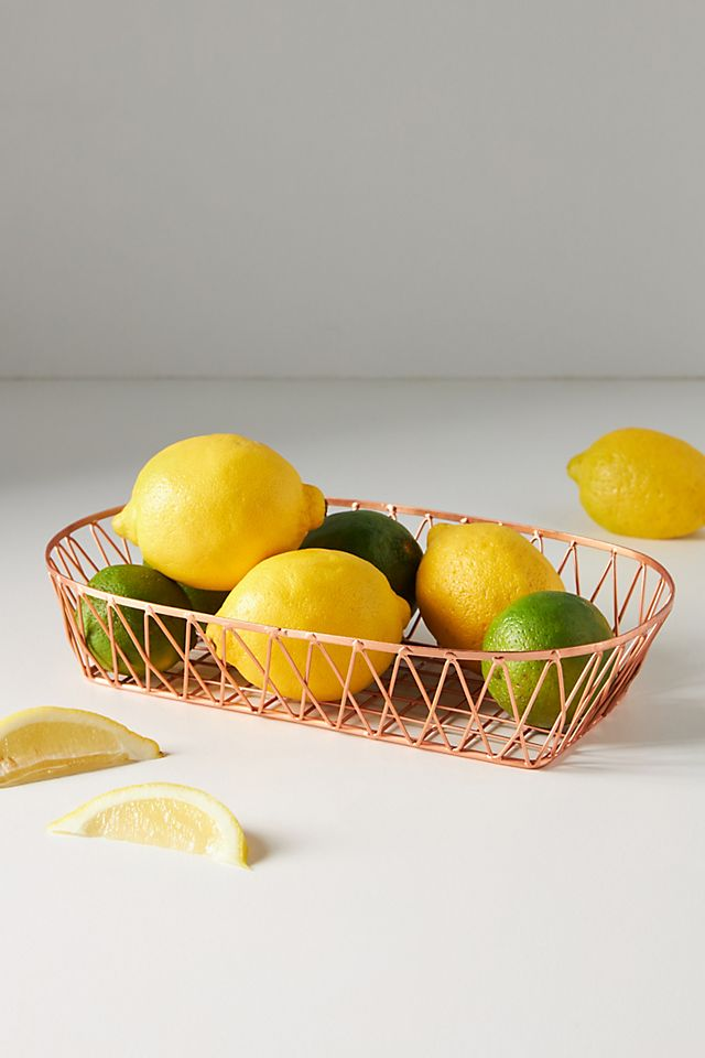 Wire Crate Food Basket $24.00