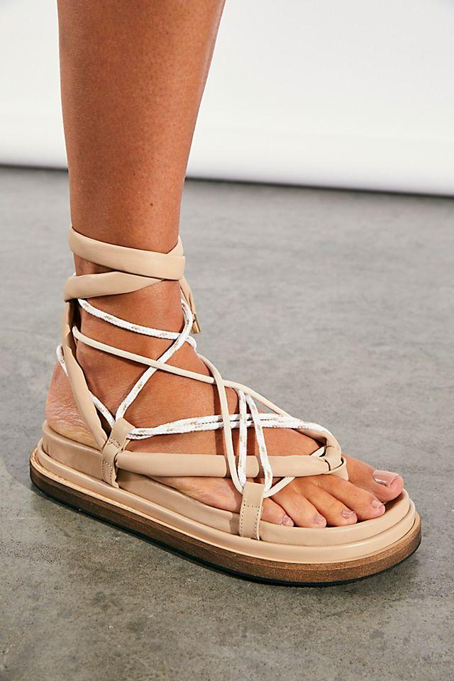 Open Sky Wrap Sandals $178.00