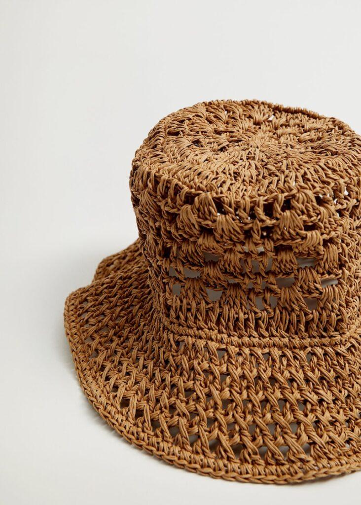 Crochet straw hat $39.99
