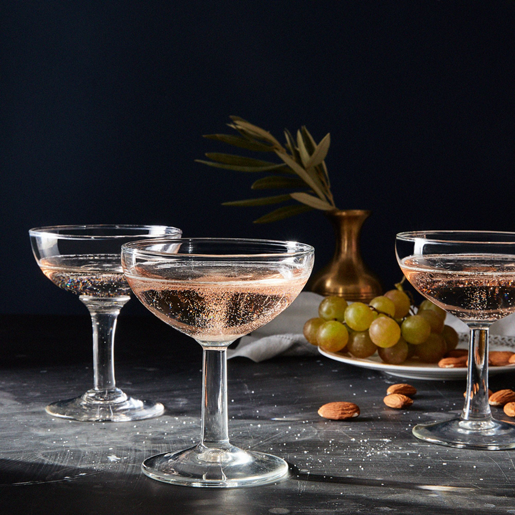 Vintage French Champagne Coupes (Set of 2) $60–$68