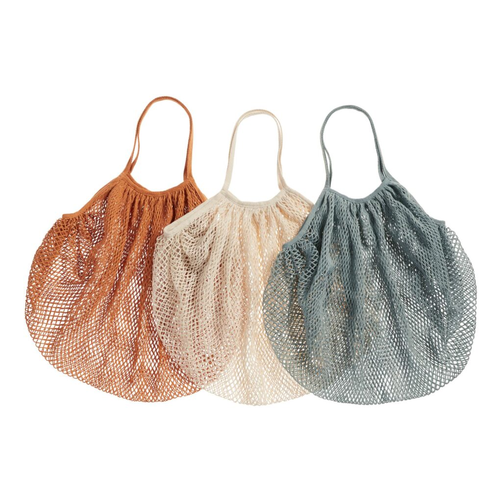 Cotton Fishnet Farmers Market Tote Bags Set Of 3 $29.97 https://fave.co/3hkskw4