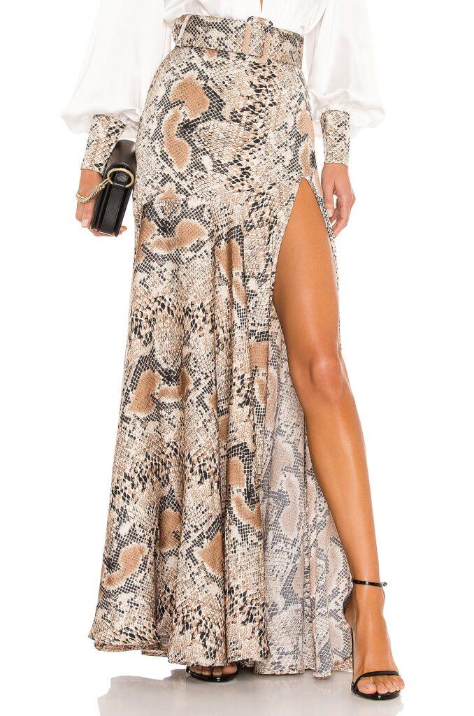 Python Maxi Skirt Bronx and Banco $285