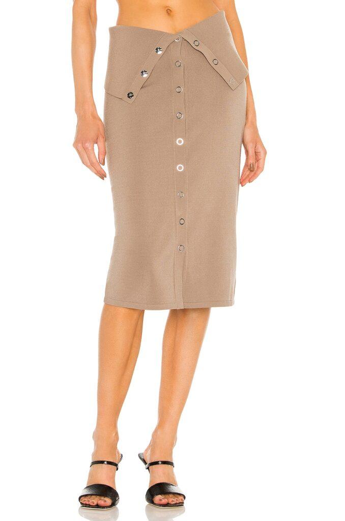 Hosiery Placket Skirt Dion Lee $550
