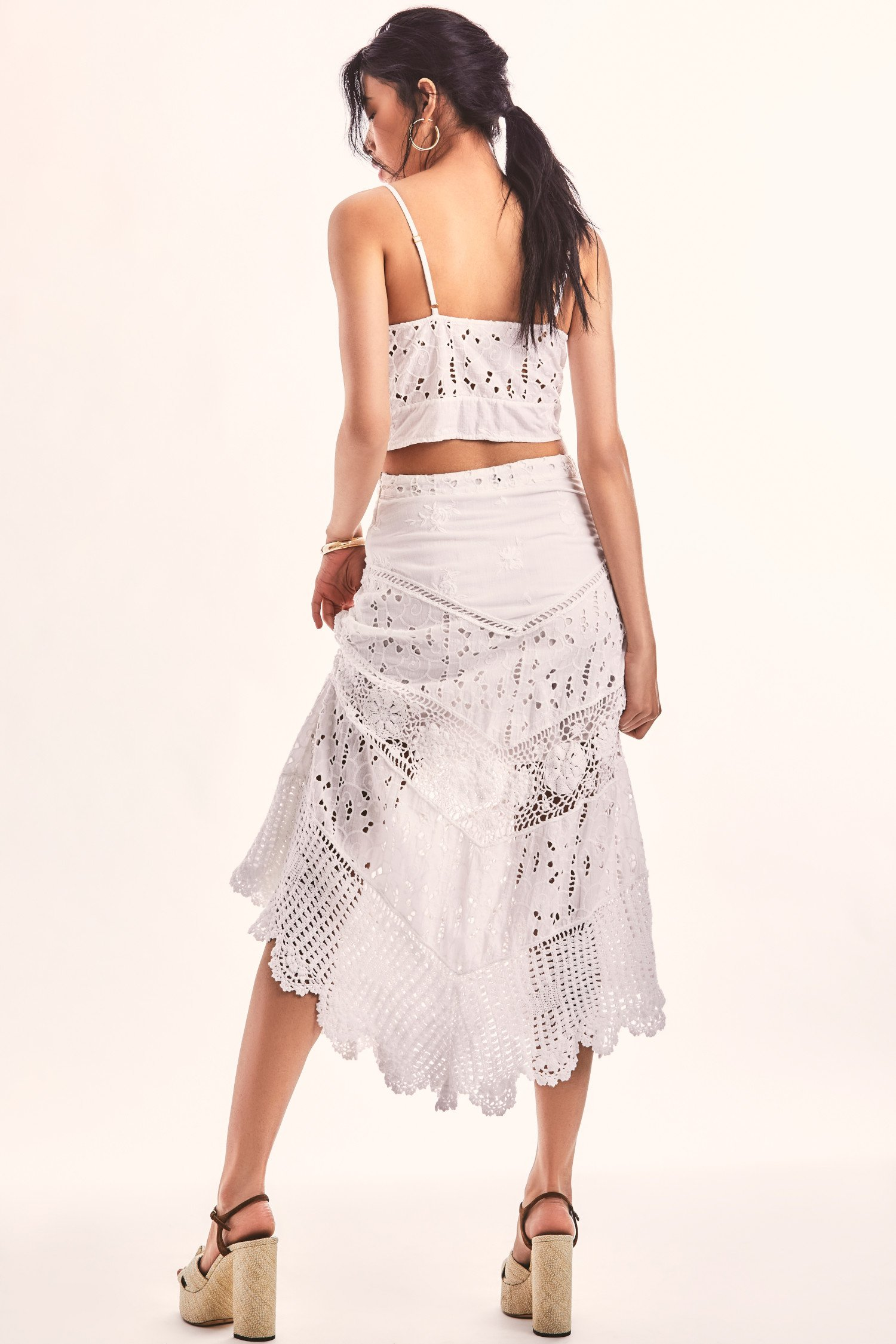 Garcelle Midi Skirt $445