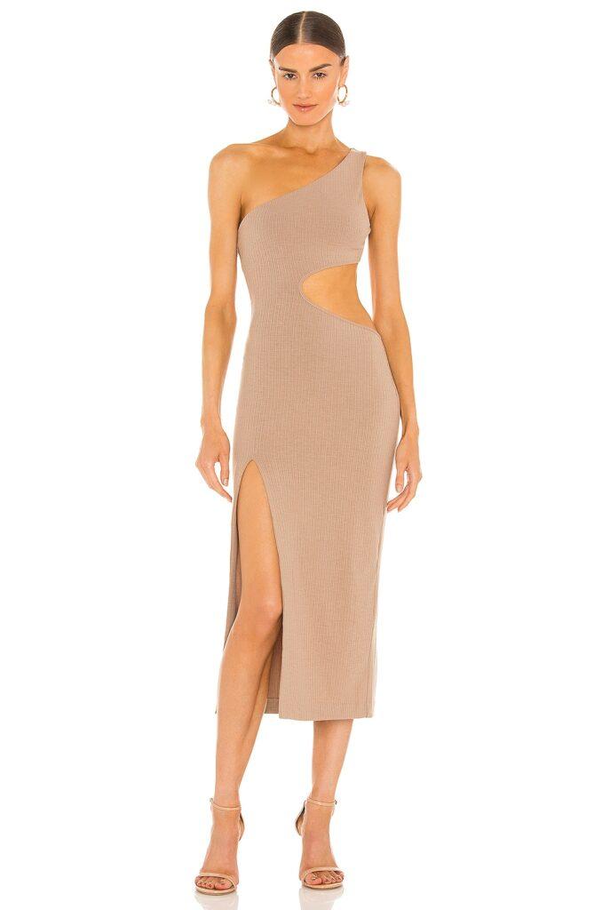 Almira Midi Dress h:ours $190