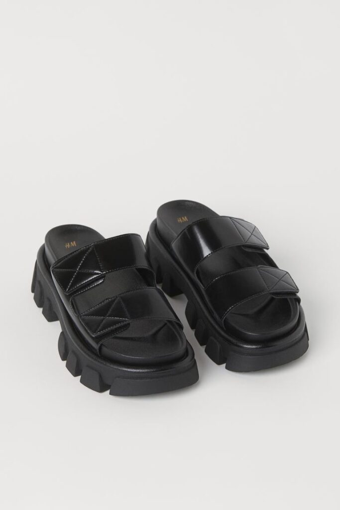 Chunky-soled Sandals $34.99