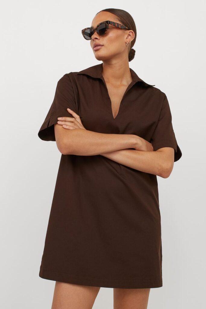 Cotton Twill Dress $24.99
