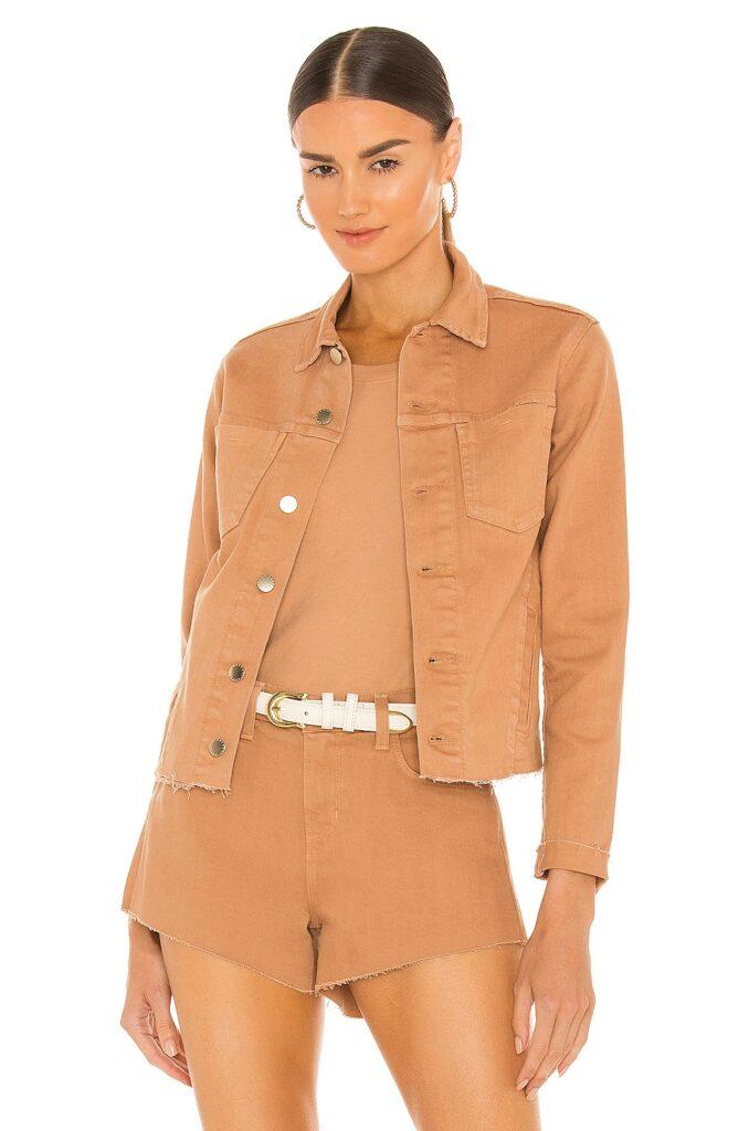 Janelle Slim Jacket L\'AGENCE $325