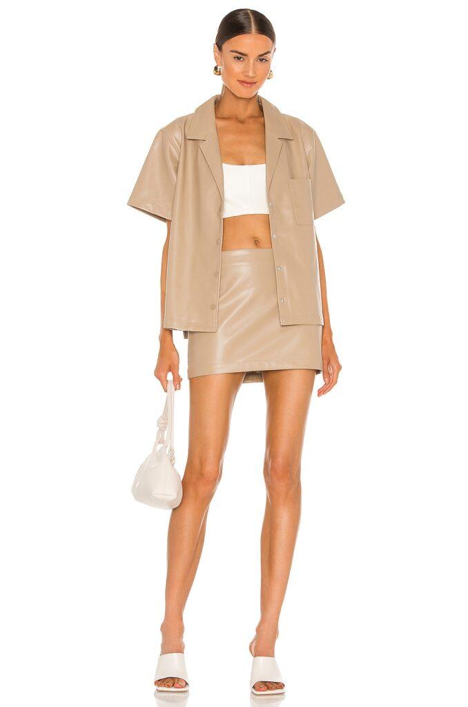 Tasha Micro Skirt L\'Academie $150