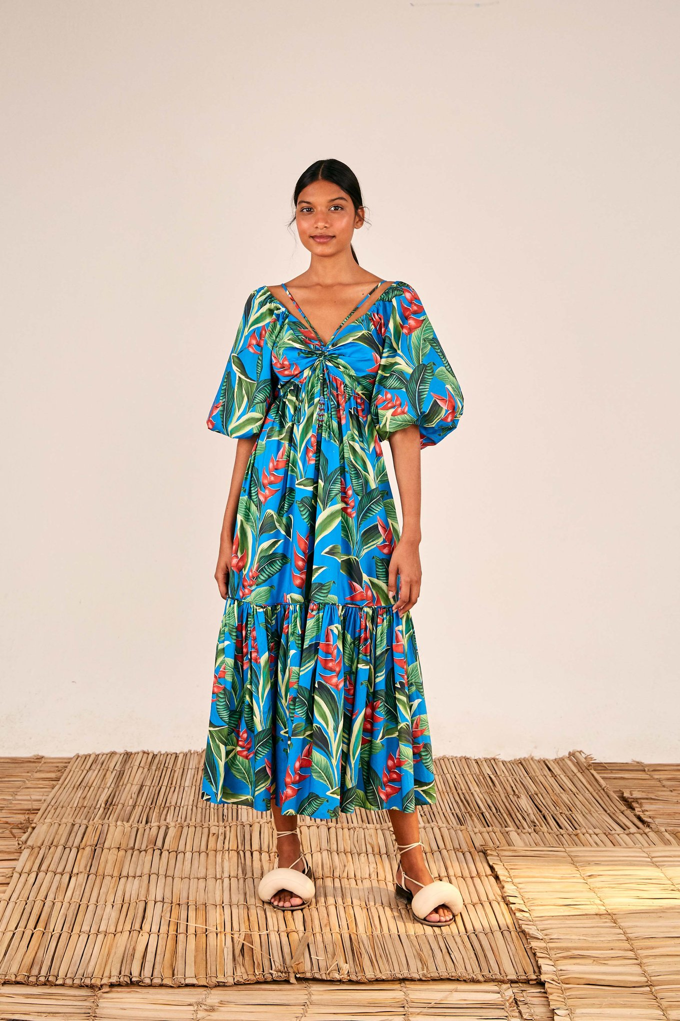 Dream Garden Midi Dress $240