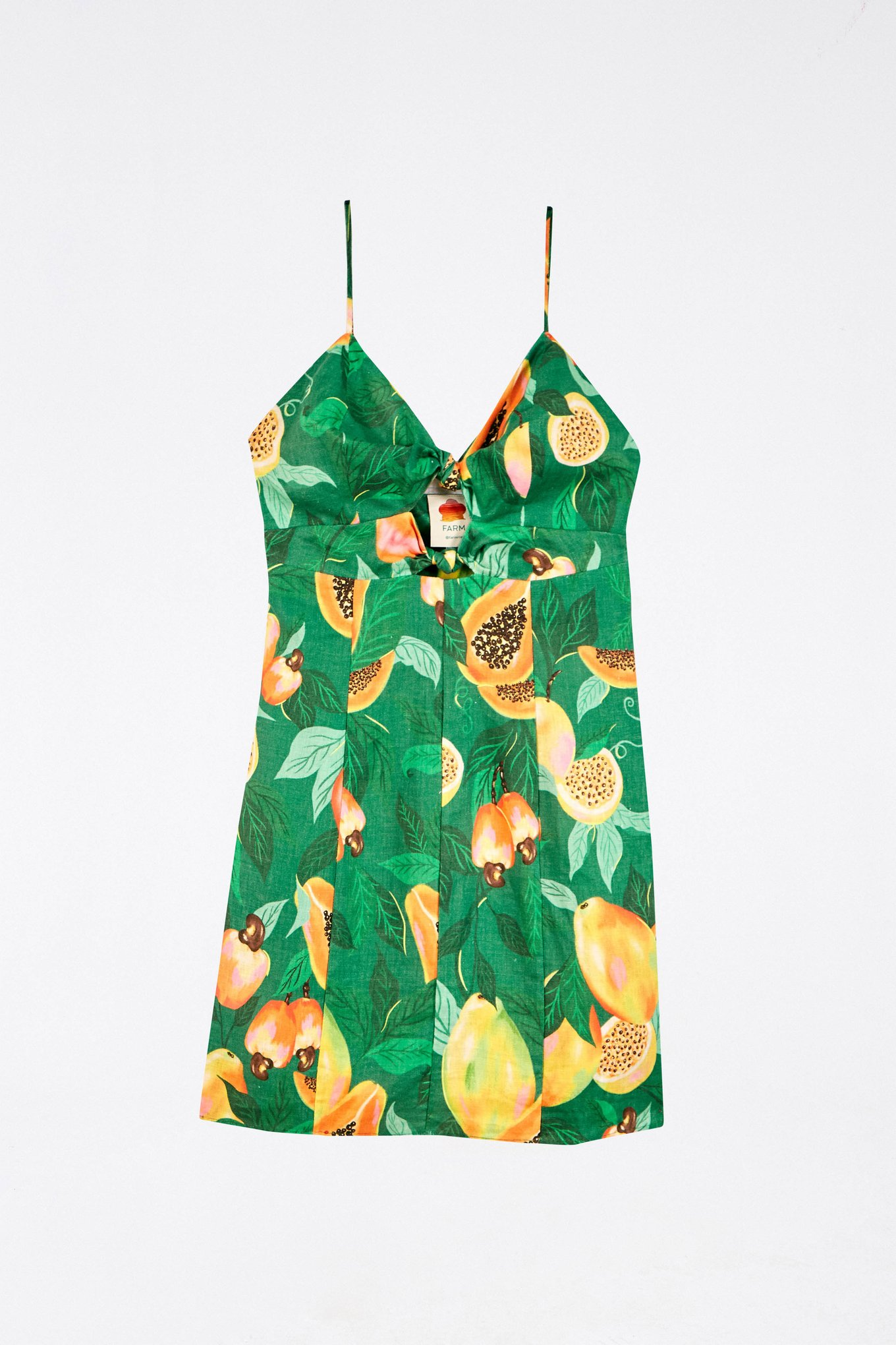 Green Papaya Salad Mini Dress $135