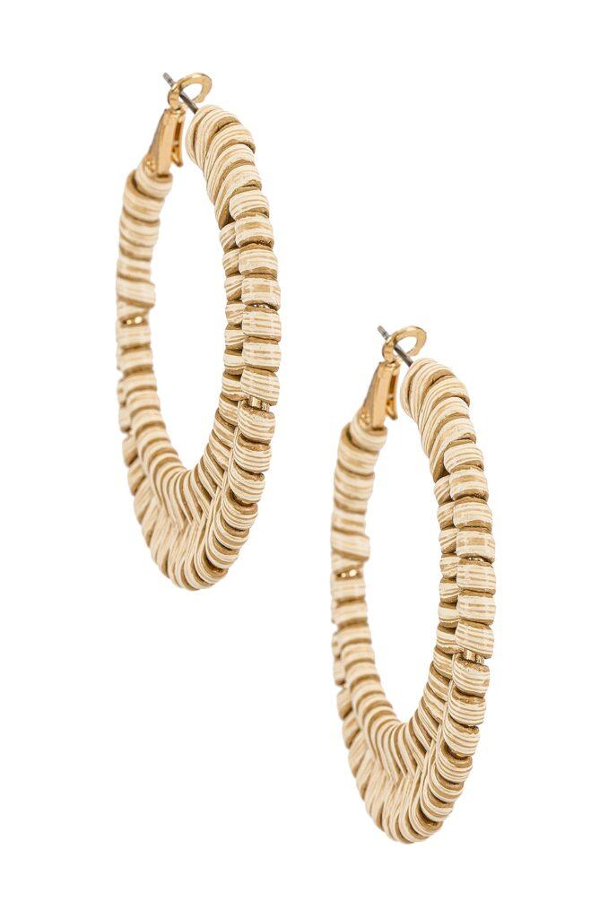 Port Hoop Earring SHASHI $56