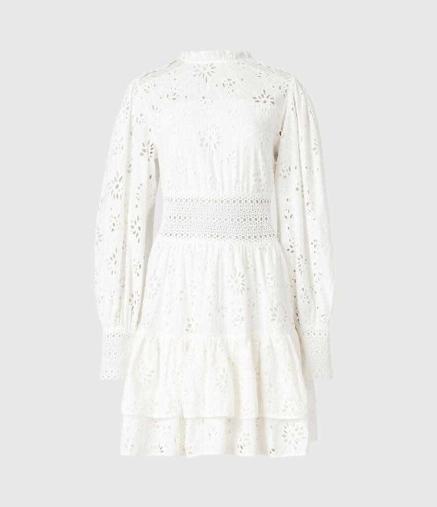 ANNASIA BRODERIE DRESS $319.00