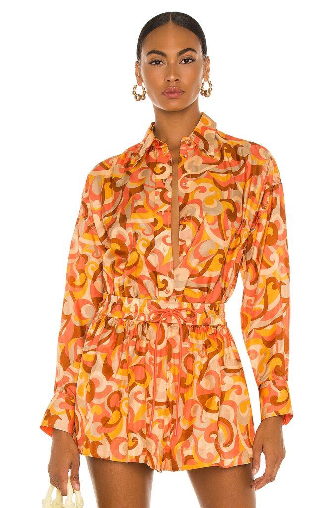 Mae Relaxed Shirt Zimmermann $595
