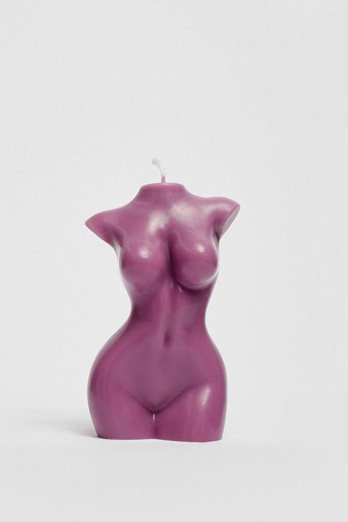 Medium Female Body Candle $7.00