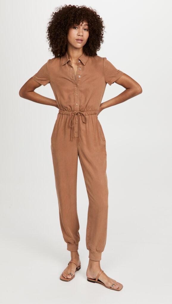 alice + olivia Xenia Collared Jumpsuit $440.00