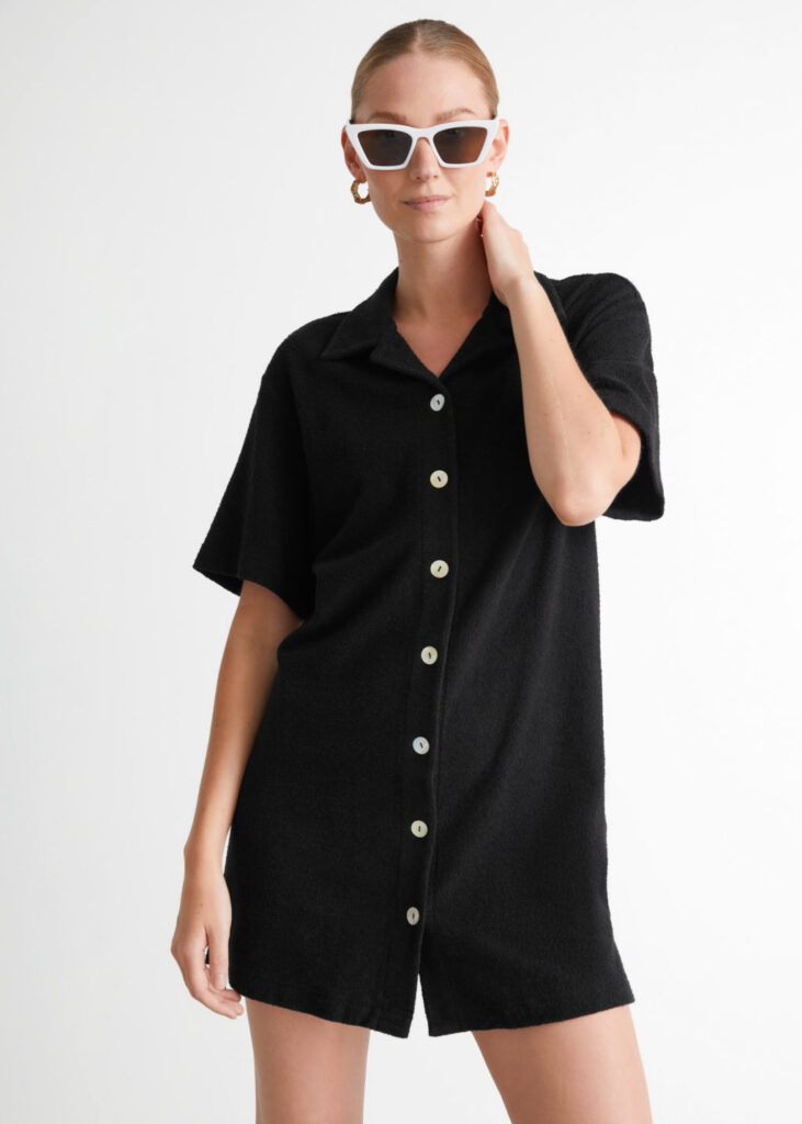 Oversized Mini Shirt Dress $69