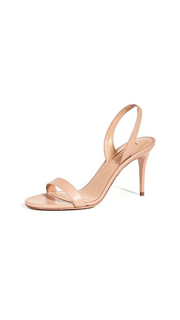 Aquazzura So Nude Sandals 85mm $650.00