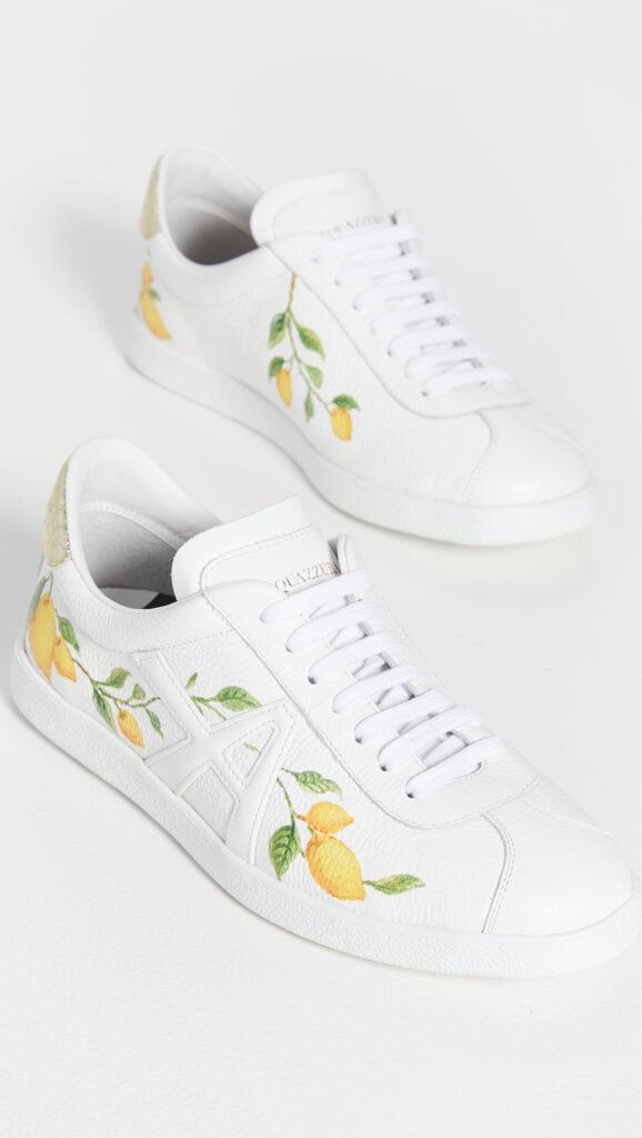Aquazzura The A Sneakers $595.00