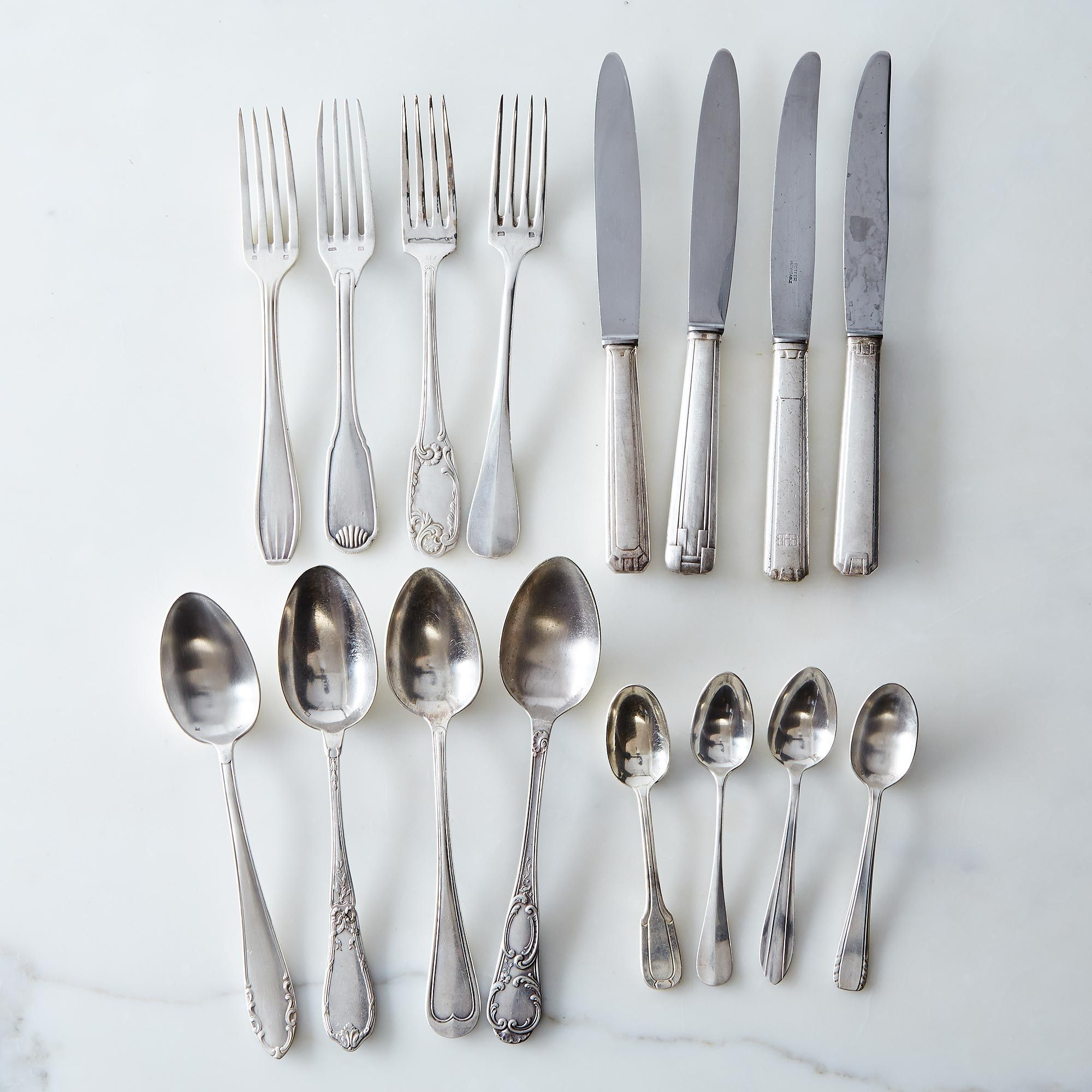 Vintage Silver-Plated French Flatware $89–$425