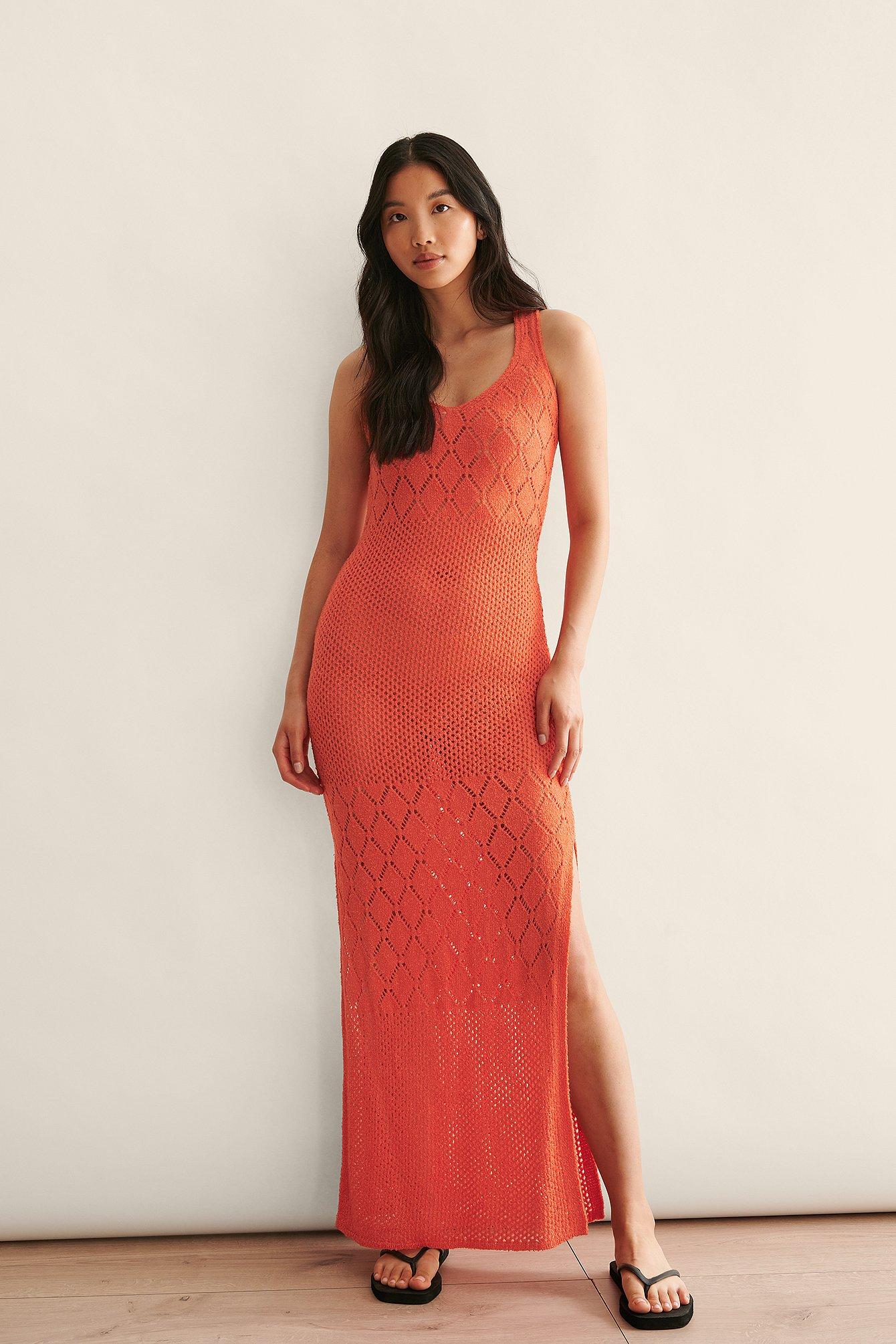 Crochet Maxi Dress $71.95