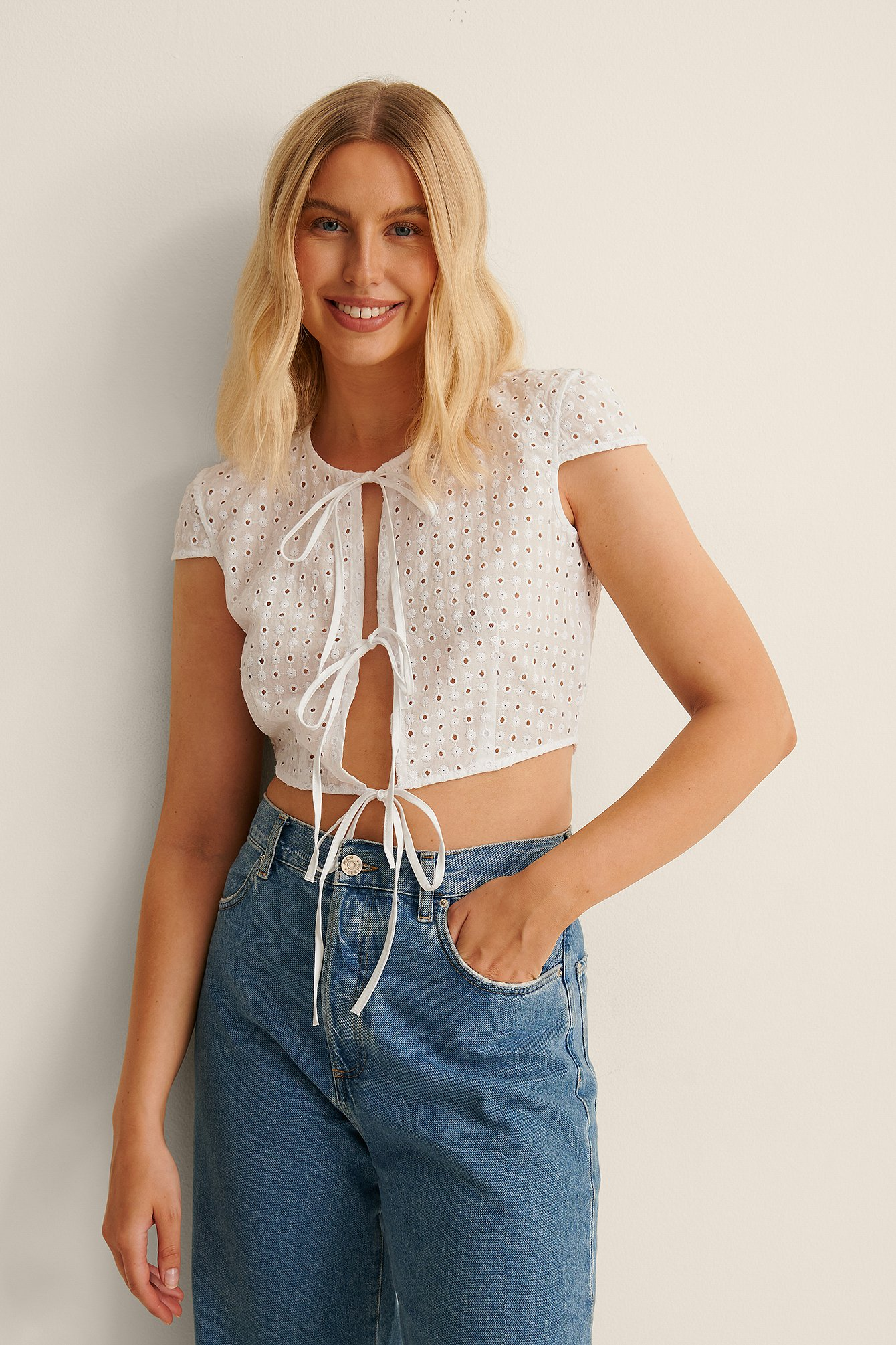 Embroidered Top $41.95