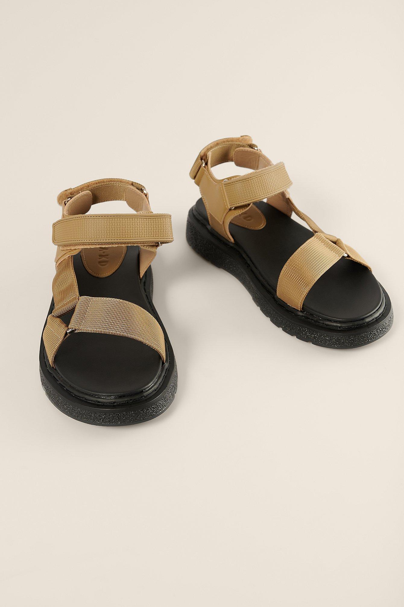 Velcro Trekking Sandals $47.95