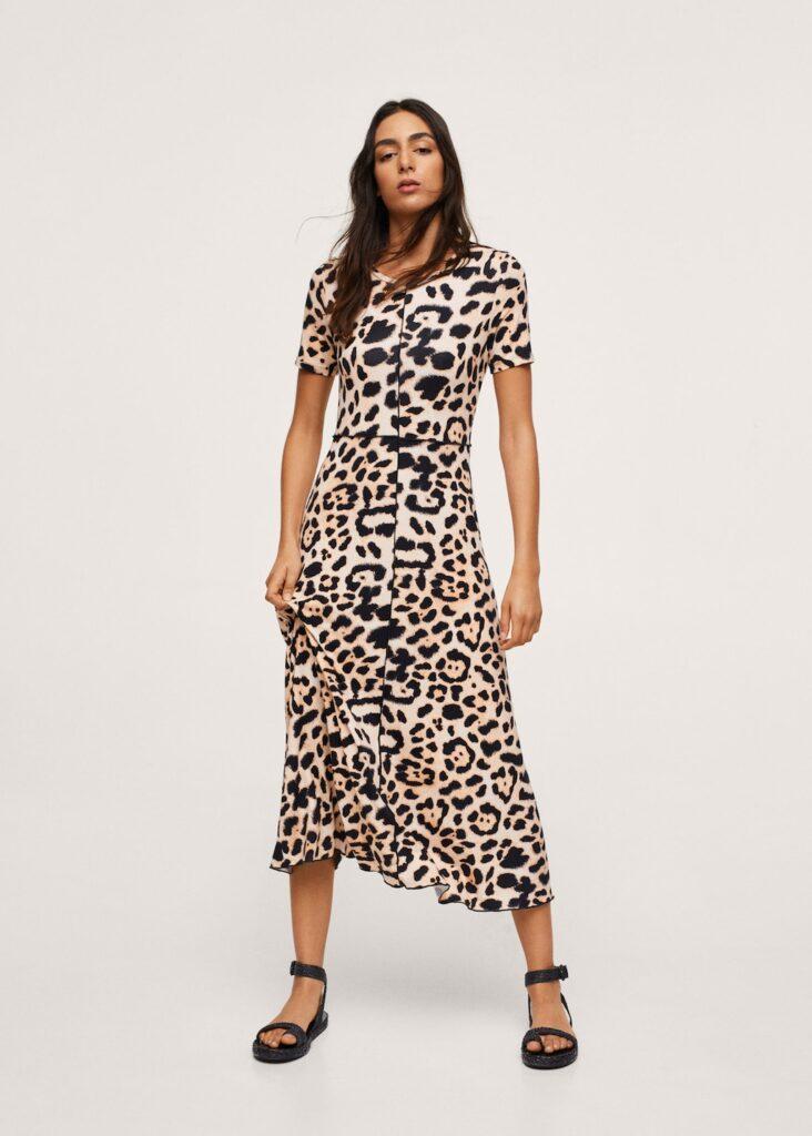 Leopard print dress $49.99
