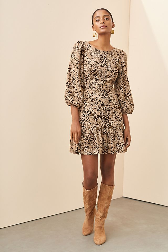 Maeve Knit Cut-Out Mini Dress $148.00