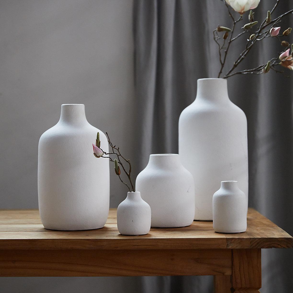 Matte Terracotta Vase, Wide Mouth $32.00–$68.00